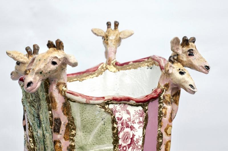 Vaas Marianne Den Hartog Giraffe