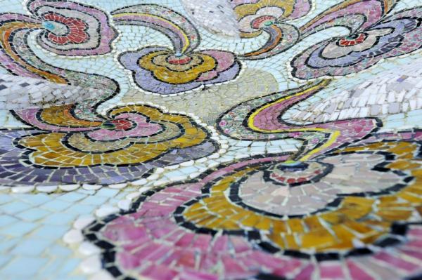 Detailfoto Schaal Yoga - Schaal Marianne den Hartog