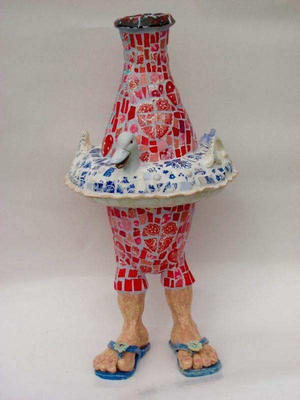 Vaas Marianne Den Hartog - Zwemband op slippers