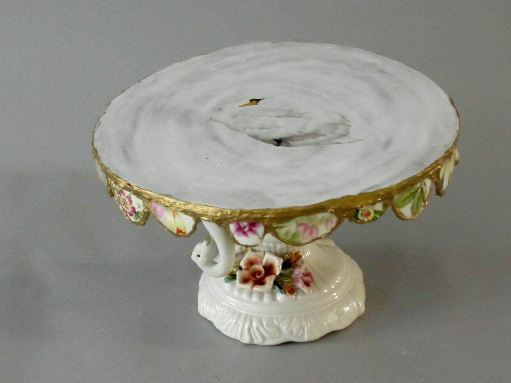Marianne den Hartog - taartplatteau Zwaan