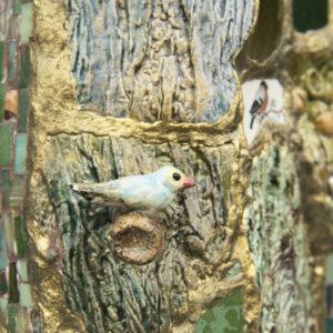 Boomvaas Eekhoorn vogeltje Marianne den Hartog - foto Claudia Otten