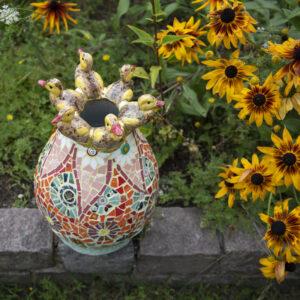 Vaas 'Alle eendjes' - Marianne den Hartog - foto Claudia Otten